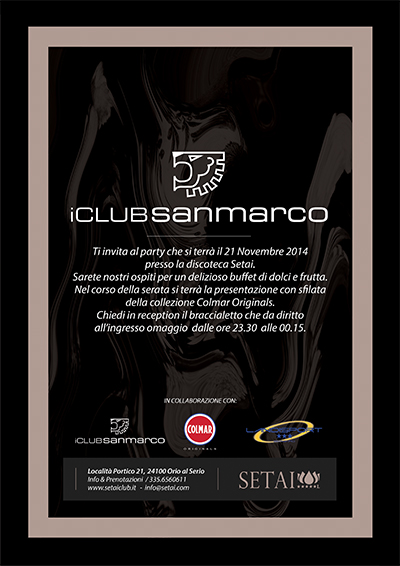 San Marco Wellness iCLUB_Evento al Setai