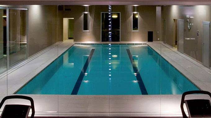San Marco Wellness iCLUB, attrezzata con piscina per allenamento e corsi specifici.