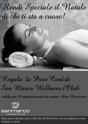 2015-12-03-GiftCard-San-Marco-wellness-iClub 10 Ingressi Area benessere