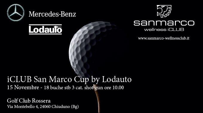 ICLUB San Marco Golf Cup By Lodauto