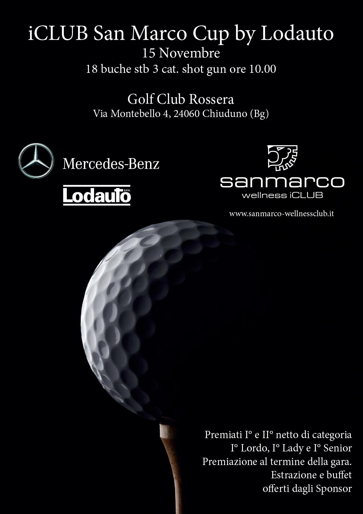 iClub San Marco Cup by Lodauto - Locandina