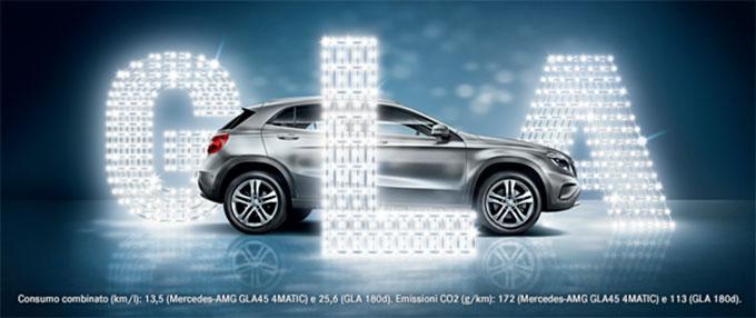LODAUTO concessionaria Mercedes Benz Provincia di Bergamo Classe GLA