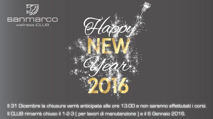 San Marco Wellness ICLUB Vi Augura Buon Anno