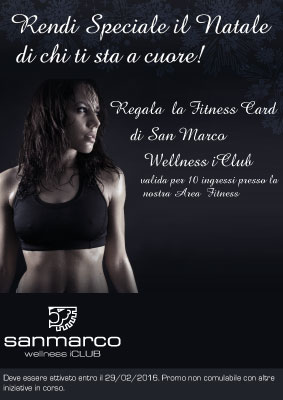 News San Marco Wellness iCLUB Fitness Card 10 ingressi Fitness