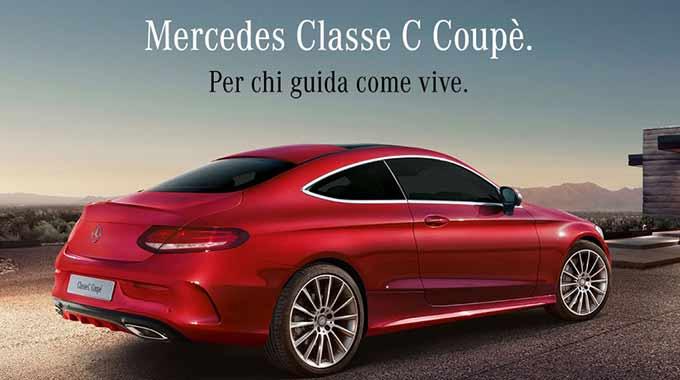 Scopri La Nuova Mercedes Classe C Coupè