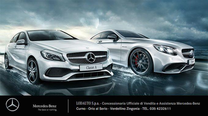 LODAUTO Bergamo La Trazione Integrale 4MATIC Di Mercedes Benz