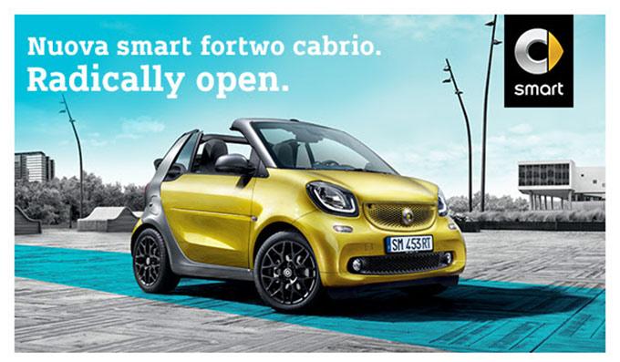 Vieni Da Smart Center By Lodauto A Scoprire Smart Fortwo Cabrio, La Regina Delle City Car