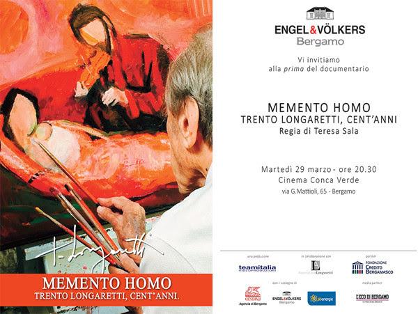 Immagine invito evento Trento Longaretti