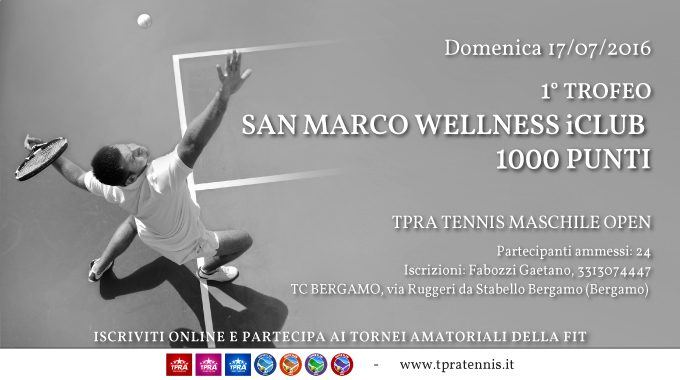San Marco Wellness ICLUB Trofeo Tennis