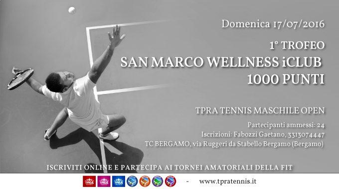 La Prima Edizione Del Trofeo ICLUB San Marco Wellness: Una Giornata Speciale Per Tutti I Nostri Soci!