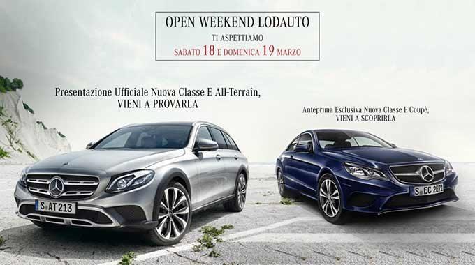 Esclusivo Open Weekend Con Lodauto