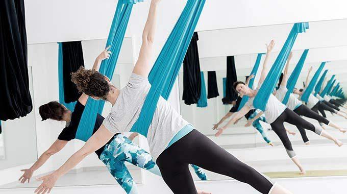 Air Yoga Per Incrementare Agilità Fisica E Tonificazione