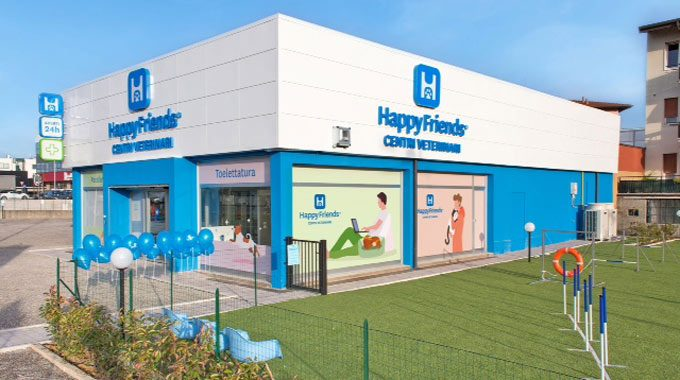 Happy Friends Ospedali Veterinari–Partner San Marco Wellness ICLUB