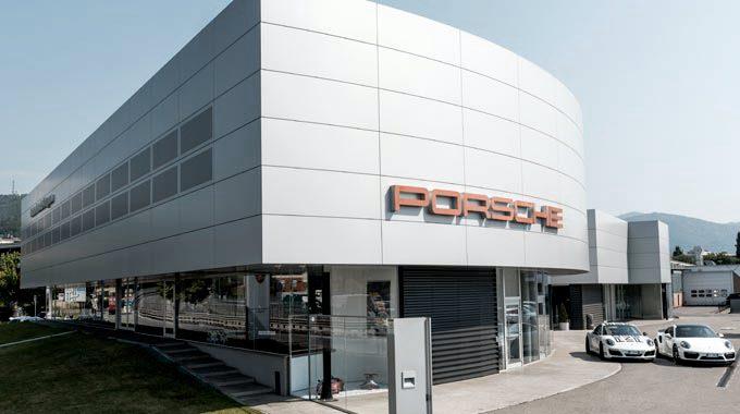 Centro Porsche Bergamo Nuovo Partner San Marco Wellness ICLUB