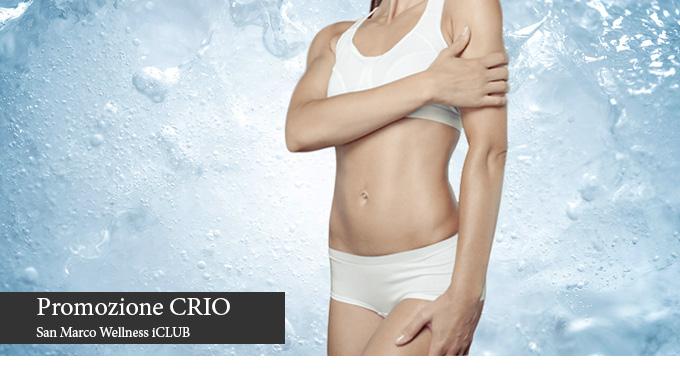 San Marco Wellness IClub Bergamo Promozione CRIO