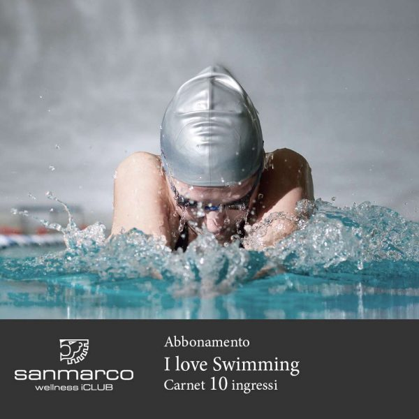 San Marco Wellness iCLUB Abbonamento I love Swimming