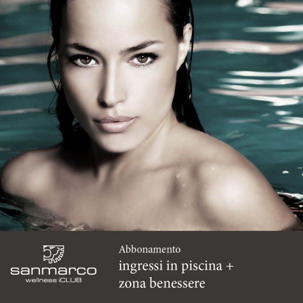 San Marco Wellness iCLUB Abbonamento ingressi in piscina e zona benessere