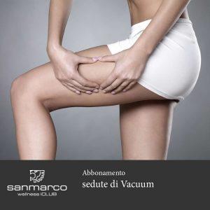San Marco Wellness iCLUB Abbonamento sedute di Vacuum