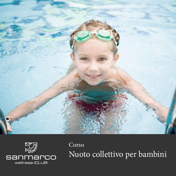 San Marco Wellness iClub Corso nuoto collettivo per bambini