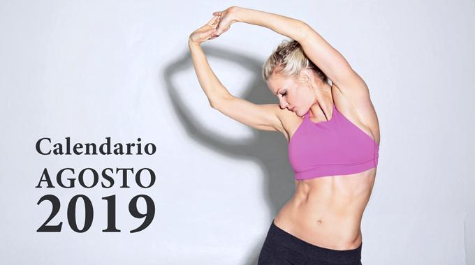 San Marco Wellness ICLUB Calendario Agosto 2019
