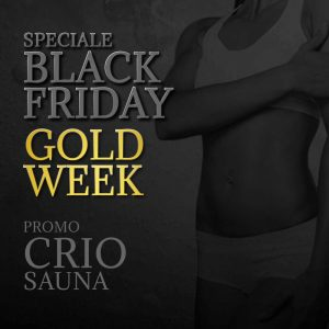 San Marco Wellness iCLUB Promo Black Friday Criosauna