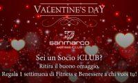 San Marco Wellness ICLUB Buoni Omaggio San Valentino