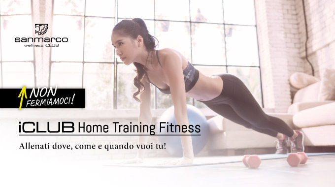 SAN MARCO ICLUB Home Training Fitness 1