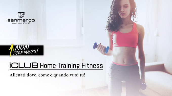SAN MARCO ICLUB Home Training Fitness 2