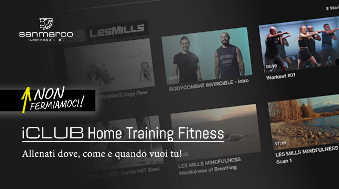 SAN MARCO ICLUB Home Training Fitness 4