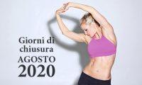 San Marco Wellness ICLUB Giorni Di Chiusura Agosto 2020
