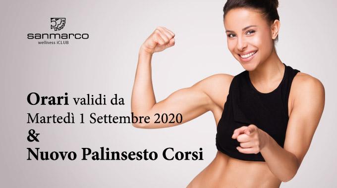 San Marco Wellness ICLUB Nuovi Orari E Palinsesto Corsi