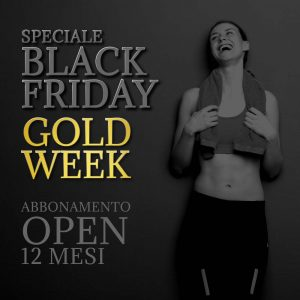 Abbonamento Open 12 Mesi | Black Friday Gold Week
