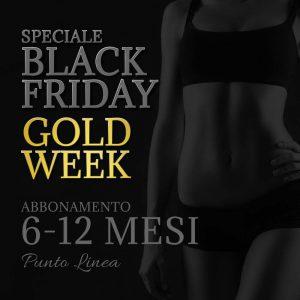 Abbonamenti Centro Dimagrimento Puntolinea | Black Friday Gold Week